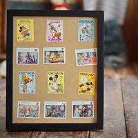 70s~80s ディズニーヴィンテージ 切手 額