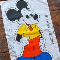 70s 80s ヴィンテージ ディズニー ミッキーマウス 枕カバー