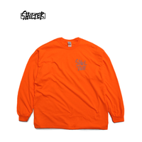 1min Logo LS T-Shirts (Neon Orange)