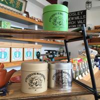 TEA BOY 茶缶 【ベージュ、グリーン、シルバー】アウトドアモンスター