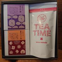 Valentine Gift Box/お茶チョコ+茶TEA TIMEパック