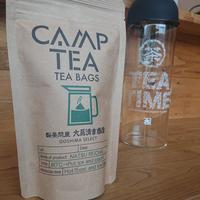 ふるふるCAMPTEA 冷茶もホットでもティーバッグ