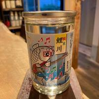 【手土産にも可愛いジャケ買いワンカップ】鯉川純米/180ml/山形・鯉川酒造
