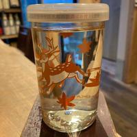 【手土産にも可愛いジャケ買いワンカップ】秋鹿バンビカップ/180ml/大阪・秋鹿酒造