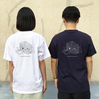 ((受注販売))バックプリントTシャツ-ミヤザキ