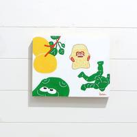 朝野ペコ パネル作品(小)10