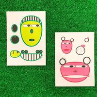 水越智三 6 RISO CARDS SET