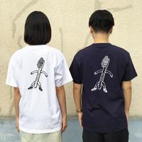 ((受注販売))バックプリントTシャツ-沖真秀