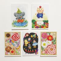 3「おもかげメルヘン」ポストカード(5枚セット)