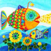 橋本佳奈 01「fish&flowers」