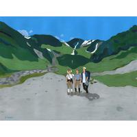 06.「夏山登山Ⅲ」
