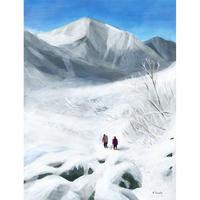 02.「雪山登山Ⅲ」