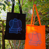Open Letter トートバッグ with 中島あかね / Open Letter tote bag with Akane Nakajima