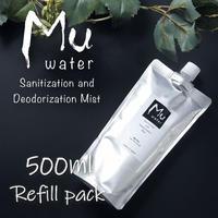 Premium 次亜塩素酸水(500ml レフィルパック)[ Mu water ]