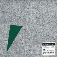 もみ銀箔両面和紙18cm(緑)