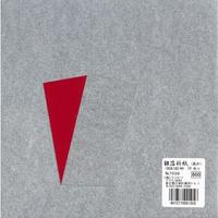 7039銀箔折紙18cm(あか)