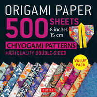"Origami Paper J Chiyogami 6"" 500s"