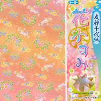 友禅千代紙(花かすみ)15cm