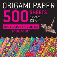 "Origami Paper Kaleidoscope Colors 6""500s"