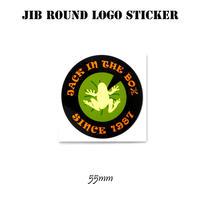 JIBラウンドロゴステッカー  55mm