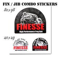 FIN/JIBフロッグコンボステッカー