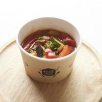 ゴロゴロ野菜の トマト煮込みスープ
