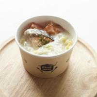 鮭と野菜のクリームスープ