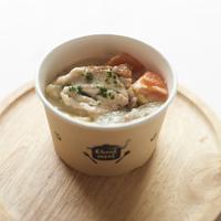 鶏と野菜のクリームスープ