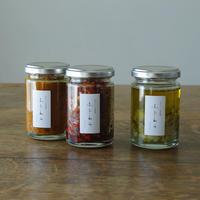 [定期便・奇数月25日に届く] 唐辛子+パクチーレモン+カレーのもと 3本セット