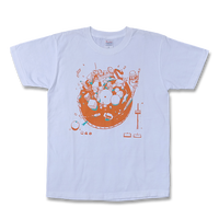"sasakure.UK ""The Fantastic Diagram of Futuristic Playdreams"" T-SHIRT (WHITE)"