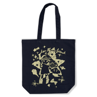 Her Ghost Friend - Cosmo Tote Bag