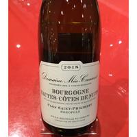 Bourgogne Hautes-Cotes DE Nuits, Clos Saint-Philibert 2018/ Domaine Meo Camuzet/ドメーヌ メオ・カミュゼ
