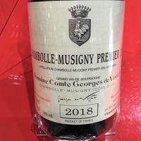 Chambolle Musigny 1er Cru /Vogüé  シャンボール・ミュジニー・プルミエ・クリュ 2018 /ドメーヌ・コント・ジョルジュ・ド・ヴォギュエ