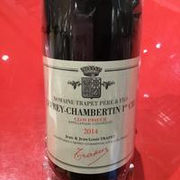 Gevrey-Chambertin 1er  Clos Prieur 2014/Domaine Trapet P&F G・シャンベルタン 1er クロ・プリュール 2014/トラペ P&F