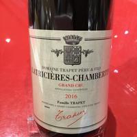 Latricieres-Chambertin GC 2016/Domaine TraPpet Pere Et Fils ラトリシエール・シャンベルタン 2016/ドメーヌ・トラペ・ペール・エ・フィス