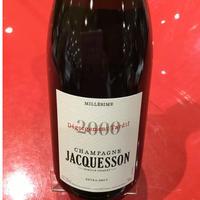 Champagne Degorgement Tardif Millésime 2000/ Jacquesson デゴルジュマン・タルディフ・ミレジメ 2000/ジャクソン