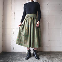 Stripe Tyrolean Skirt KAYE