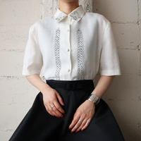 Embroidery Linen Shirt WH