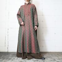 Pattern Long Shirt Dress GRRE