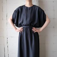 Petal Sleeve Dress BK