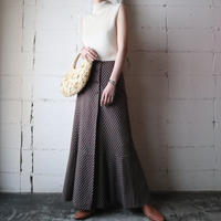 Vintage Cacharel Pattern Flared Skirt BR