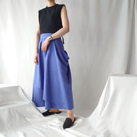 Asymmetric Drape Design Skirt BL