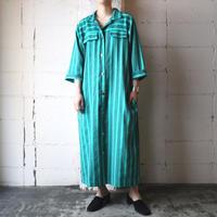 Stripe Shirt Dress GN