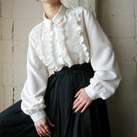 Frilled Bodice Blouse WH