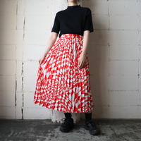 Geometric Pattern Skirt REWH