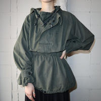 Vintage Military Hooded Jacket KA