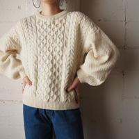 Crew Neck Fisherman Sweater IV