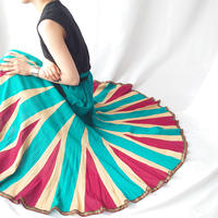 Tricolor Long Skirt BLREIV