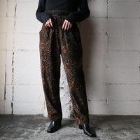Paisley Pattern Corduroy Pants BR