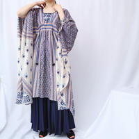 Ethnic Pattern Dress BL